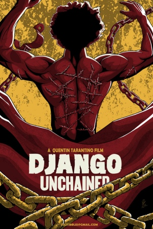 Django Unchained fan poster