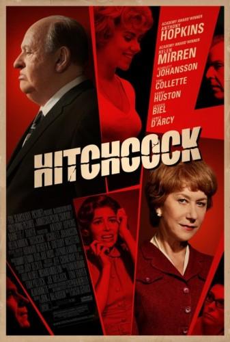 Hitchcock 2012 movie poster